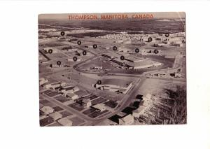 Thompson, Manitoba, Legend of Building Names, Photo Map, Used 1969