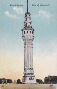 Tour de Stamboul Constantinople Turkey