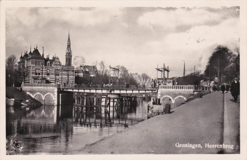 RP; GRONINGEN, Netherlands; Heerenbrug, 1930s