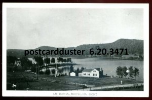 3471 - MONTPELLIER Quebec 1940s Lac Schryer. Real Photo Postcard by Rumsey
