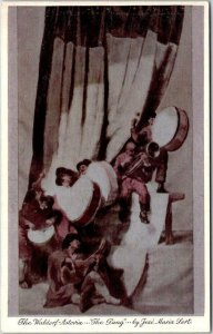 New York City Postcard WALDORF-ASTORIA HOTEL The Gang Sert Room Restaurant