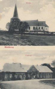 BIOLDERUP , Germany , 1910 ; Kirche & Pastorat
