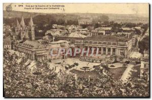Postcard Old Spa Casino View and Cathedrale