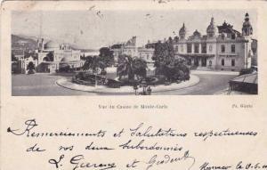 Vue du Casino de Monte-Carlo , PU-1900