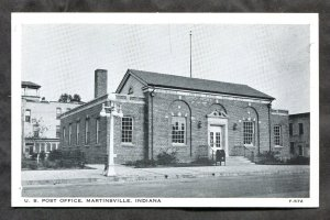 5301 - MARTINSVILLE Indiana 1940s US Post Office