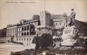 Monaco Monte Carlo Prince's Palace Real Photo