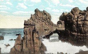 C.1910 Natural Bridge on 17 Mile Drive near Del Monte, Cal. Postcard P122