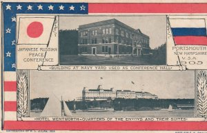 PORTSMOUTH , New Hampshire , 1905 ; Japanese-Russian Peace Conference