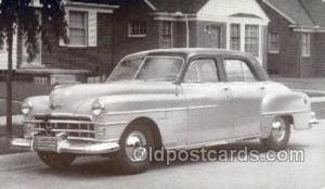 1950 Chrysler Windsor 4 Door Sedan Automotive, Autos, Cards Old Vintage Antiq...