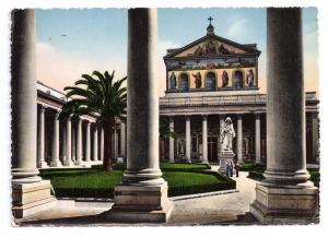 Italy Rome Basilica di S Paolo St Paul Church Tinted Capello