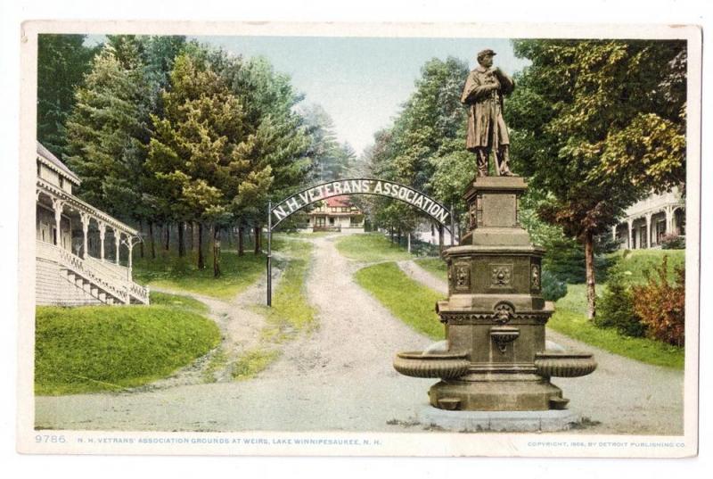 Lake Winnipesaukee NH Veterans Assoc Soldiers Monument