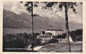 Austria Innsbruck Schloss Amrass 1942 Real Photo