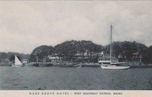 Maine York Harbor The Oake Grove Hotel Albertype