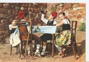 Postal 030242 : Espa? tipica. Catalu?. Ni?s con trajes tipicos