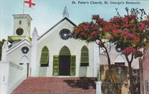 St Peters Church St Georges Bermuda