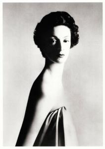 Marella Agnelli in 1953 Fashion by Richard Avedon Modern Postcard