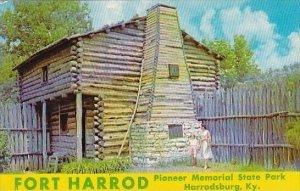 Fort Harrod Harrodsburg Kentucky