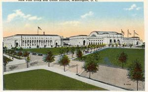 DC - Washington, New Post Office & Union Station