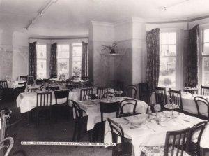 Dining Room St Winifreds Christian Holiday Home Rhos On Sea Postcard