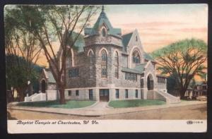 Baptist Temple at Charleston, W. Va. 1910 Illustrated Postal Card Co. 108-9