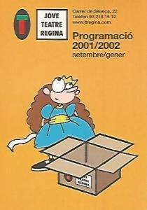 POSTAL PUBLICITARIA 55438: PROGRAMACIO JOVE TEATRE REGINA