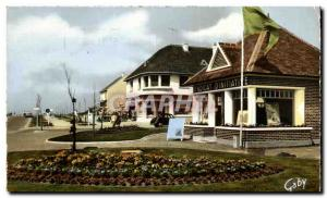 Postcard Modern Square Franceville Plage Union of initiative