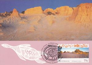 Willandra Lakes , Mungo National Park , New South Wales : Stamp & Postcard , ...