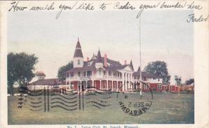 Missouri St Joseph Lotus Club Golf Course 1905