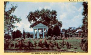 PA - Allentown. Rose Gardens