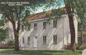 Home of Governor Wm. Hendricks, Corydon, Indiana, 30-40s