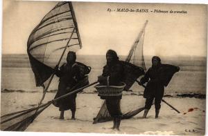 CPA MALO - LES - BAINS.- Pecheuses de crevettes  (194522)
