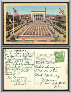 Maryland Baltimore War Memorial & Plaza