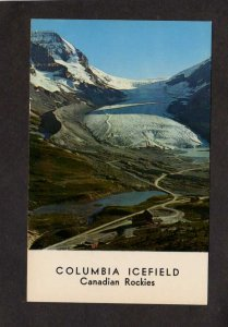 AB Icefields Canadian Rockies British Columbia BC Alberta Canada Carte Postale