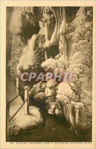 Old Postcard Well of Padirac - Le Pas du Crocodile