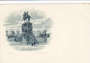 Germany Berlin Kaiser Wilhelm Denkmal