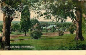 Peterson New Jersey~East Side Park~Trees & Dirt Road~1909 Postcard