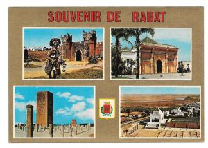Africa Maroc Rabat Landmarks Buildings Multiview Postcard
