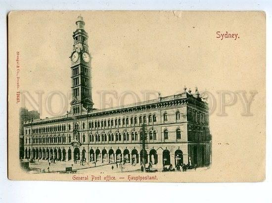 130221 Australia SYDNEY General POST Office Vintage postcard