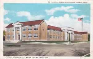 Exterior,  Central Junior High School,  Pueblo,  Colorado,  00-10s
