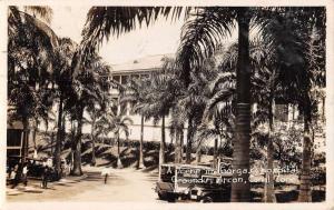 Ancon Panama Canal Zone Gorgas Hospital Real Photo Antique Postcard K79711