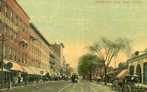 MA - Lawrence. Essex Street, Circa 1900