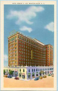 NC - Winston-Salem, Hotel Robert E. Lee