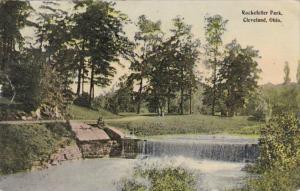 Ohio Cleveland Scene In Rockefeller Park 1914