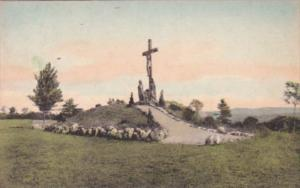 New York Auriesville Crucifixion Group National Shrine Of North American Mart...