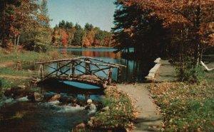 Greetings from Kalkaska, Michigan, MI, 1955 Chrome Vintage Postcard g8918