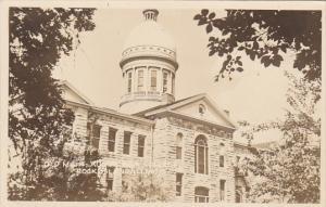 Illinois Rock Island Augustana College Main Building Real Photo