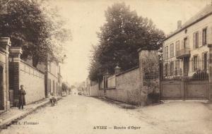 CPA Avize - Route d'Oger (109908)