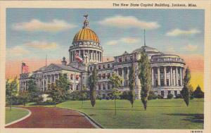 Mississippi Jackson New State Capitol Building Curteich