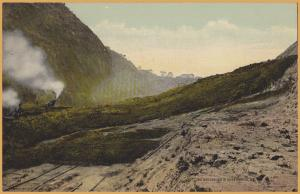 Panama Canal Zone-View of the Land Slide at Cucaracha, 1912