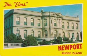 The Elms - Newport RI, Rhode Island - One of the country's beautiful Chateaus